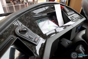 Sentosa Volvo B8RLE - Dashboard