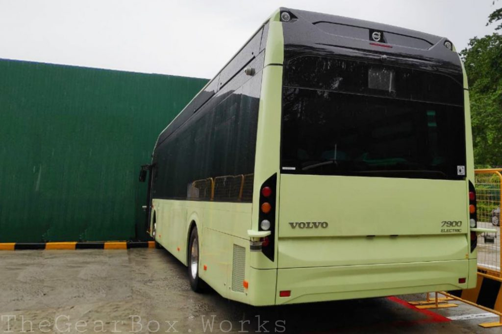 Volvo 7900 Electric (RD3162L): Rear. Photo: Syabiel Ahamed