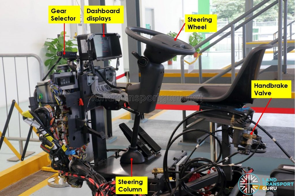 Volvo B5LH Chassis - Dashboard and associated components