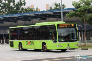 Bus 18 - SBS Transit Mercedes-Benz Citaro (SG1139R)