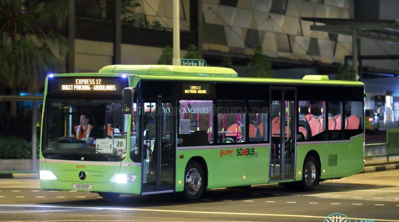 Express 17 - SMRT Buses Task Force 50 Mercedes-Benz Citaro (SG1211P)