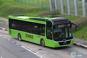 Bus Service 68: Go-Ahead MAN Lion's City A22 (SG1720L)