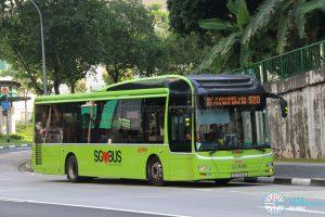 Bus 920 - SMRT Buses MAN A22 (SG1722G)