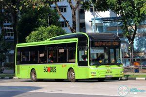 Bus 920 - SMRT Buses MAN A22 (SG1723D)