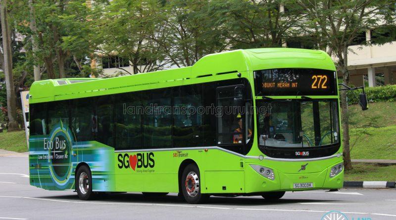 Bus Service 272 - SBS Transit Volvo B5LH (SG3003K)