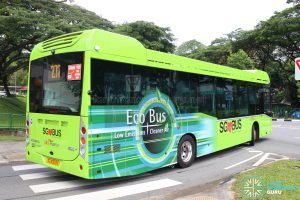 Bus Service 272 - SBS Transit Volvo B5LH (SG3003K) [Rear]