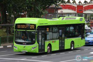 Bus Service 272 - SBS Transit Volvo B5LH (SG3006C)