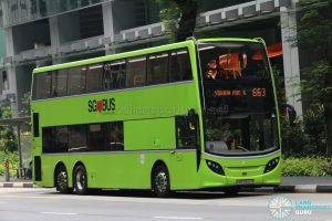 City Direct Bus 663 - Tower Transit Alexander Dennis Enviro500 (SMB3552P)