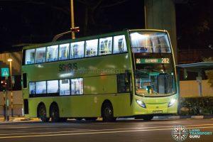 Bus 282: Tower Transit Alexander Dennis Enviro500 (SMB3566A)