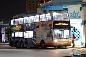 Shuttle 4 - SMRT Buses Alexander Dennis Enviro500 (SMB3586S)