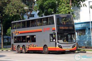 Bus 972 - SMRT Buses Alexander Dennis Enviro500 (SMB3599E)