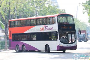 On-Demand Public Bus (Joo Koon) JK-7 - SBS Transit Volvo B9TL Wright (SBS3722G)
