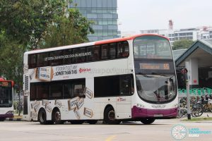 Bus 65 - SBS Transit Volvo B9TL Wright (SBS3783E)