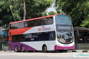 On-Demand Public Bus (Joo Koon) JK-4 - SBS Transit Volvo B9TL Wright (SBS3830C)