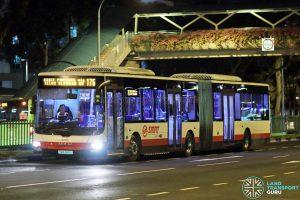 Service 176 - SMRT Buses MAN A24 (SMB388S)