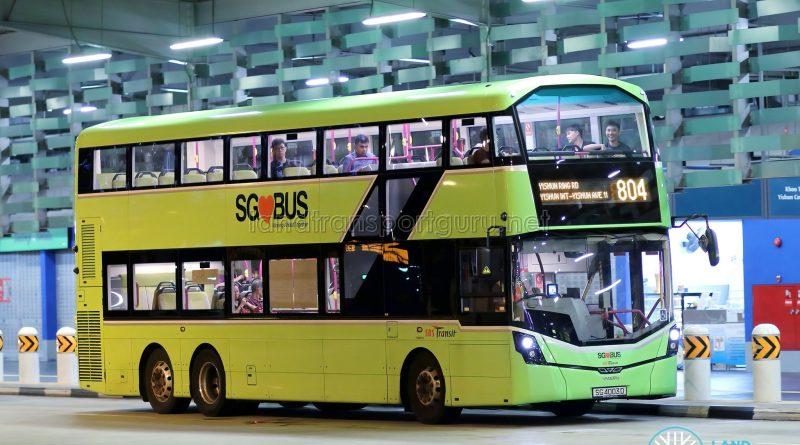 Bus 804 - SBS Transit Volvo B8L (SG4003D)