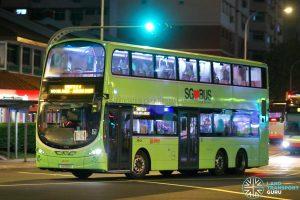 Shuttle 4 - SMRT Buses Volvo B9TL (SG5159G)