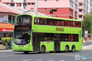 Bus 300 - SMRT Buses Volvo B9TL Wright (SG5580Y)