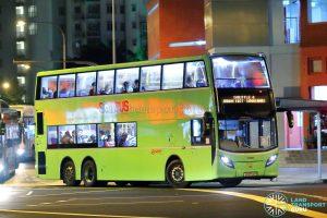 Shuttle 4 - SMRT Buses Alexander Dennis Enviro500 (SG5702M)