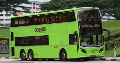 SMRT Feeder Bus Service 913M