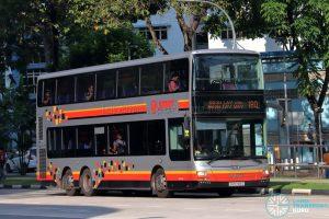 Bus 180 - SMRT Buses MAN A95 (SG5748G)