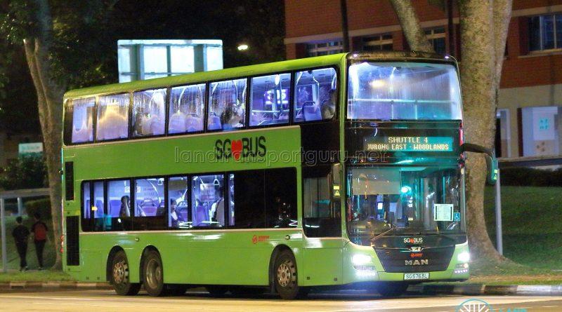 Shuttle 4 - SMRT Buses MAN A95 (SG5763L)