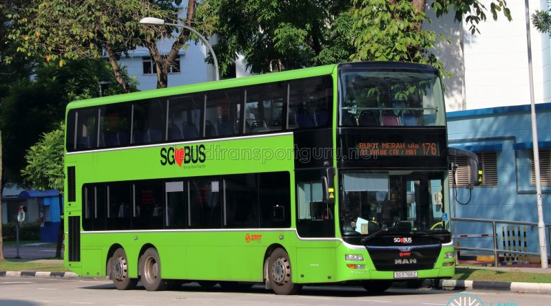 Bus 176 - SMRT Buses MAN A95 (SG5768Z)