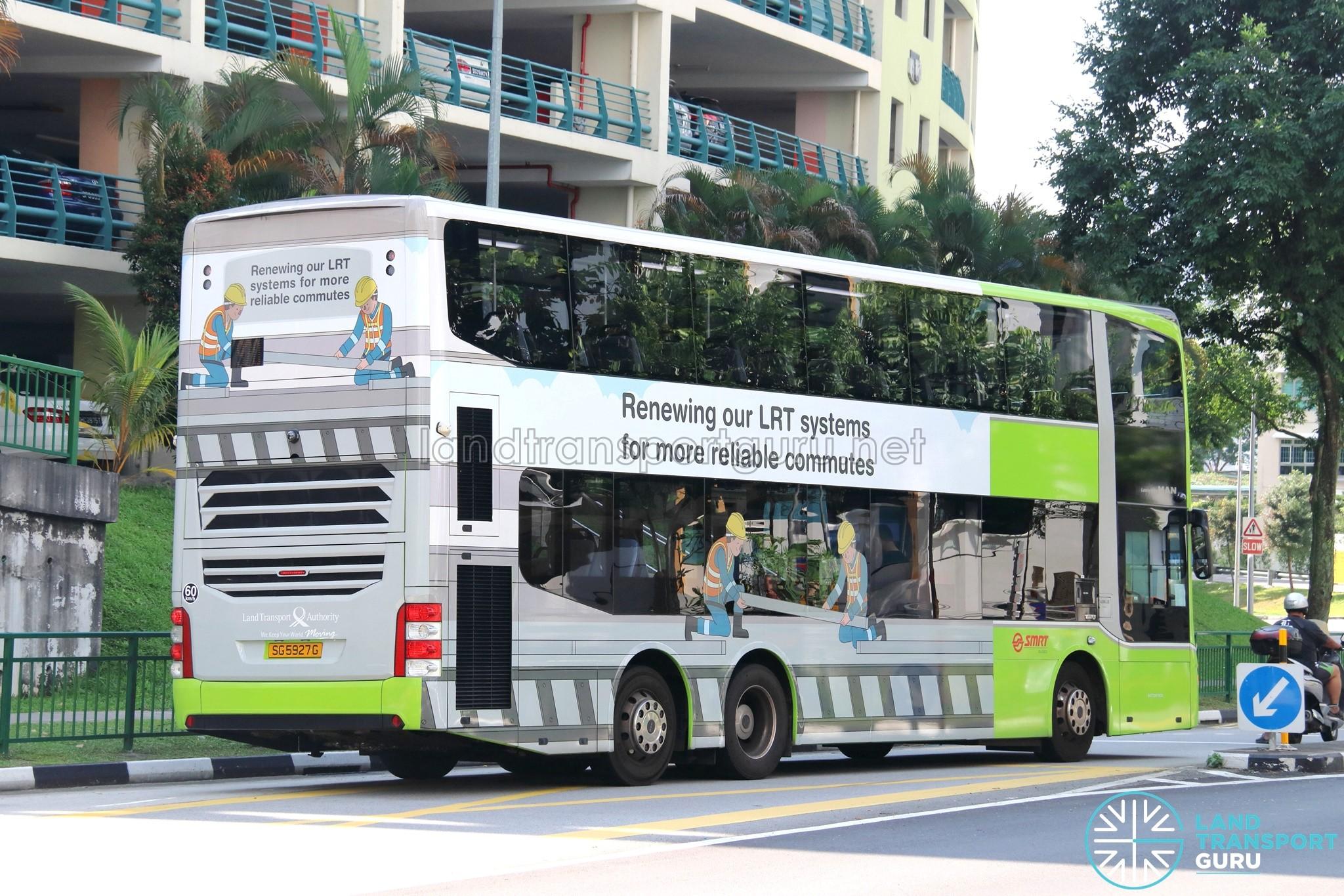 Bus 920 - SMRT Buses MAN A95 Euro 6 (SG5927G)