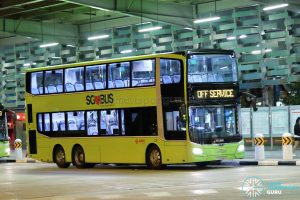 Off Service - SMRT Buses MAN A95 Euro 6 (SG5946B)