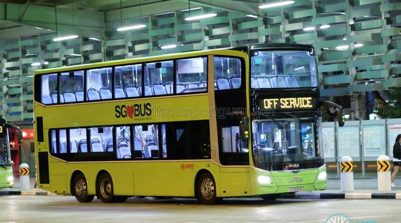 Off Service - SMRT Buses MAN A95 Euro 6 (SG5946B)