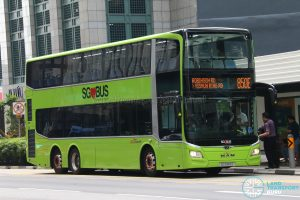 Bus 850E - SBS Transit MAN A95 Euro 6 (SG5989C)