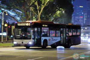 Service MD-3 - SBS Transit Mercedes-Benz Citaro (SBS6029E)