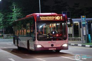 Service MD-1 - SBS Transit Mercedes-Benz Citaro (SBS6776G)