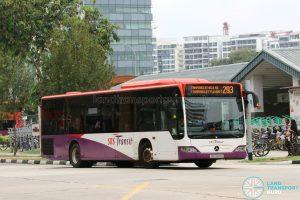 Bus 293 - SBS Transit Mercedes-Benz Citaro (SBS6801S)