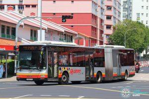 Bus 301 - SMRT Buses MAN A24 (SMB8011B)