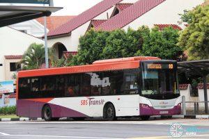 Bus 10 - SBS Transit Scania K230UB Euro IV (SBS8416H)