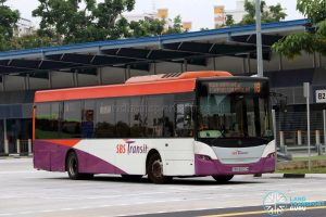 Bus 18 - SBS Transit Scania K230UB Euro V (SBS8697M)