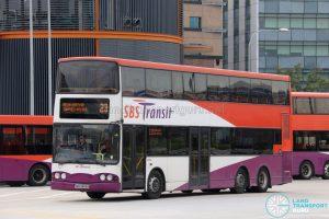 Bus 23 - SBS Transit Volvo B10TL (SBS9809B)