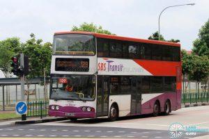 Bus 129 - SBS Transit Volvo B10TL (SBS9813M)