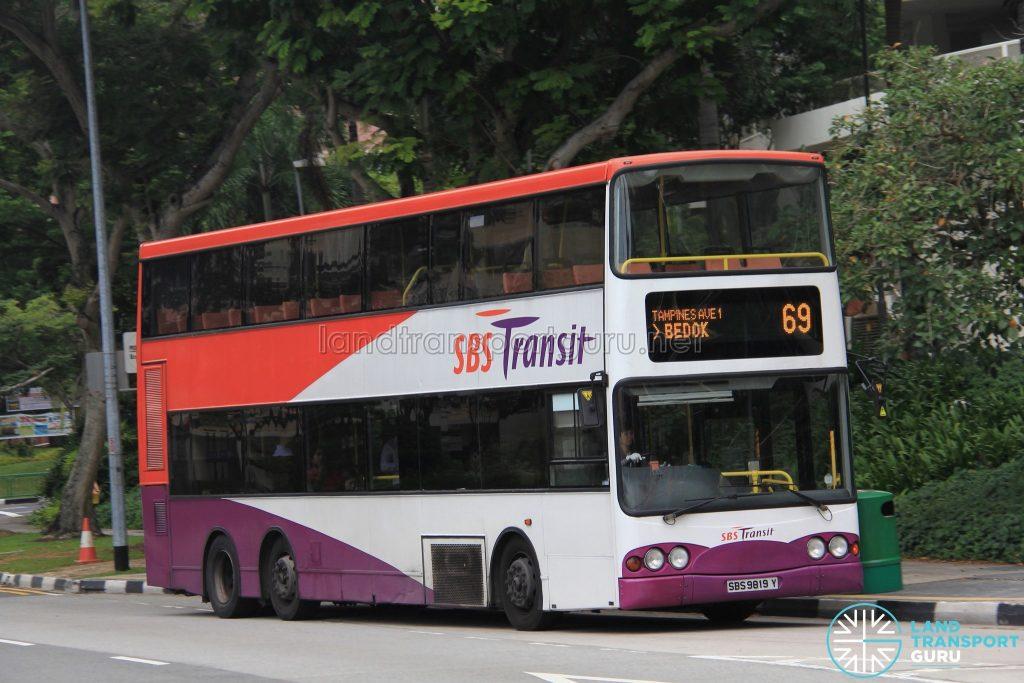 Bus 69 - SBS Transit Volvo B10TL (SBS9819Y)