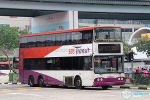 Bus 293T - SBS Transit Volvo B10TL (SBS9830M)