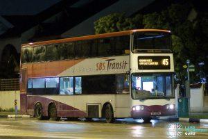 Service 45 - SBS Transit Volvo B10TL (SBS9835A)