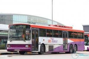Volvo B10M 14.5 'Superlong' - Bus 83 (SBS997A)