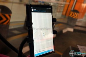 On-Demand Public Bus - Tablet with BusGo Driver Application