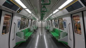C651 Refurbishment: Interior (Photo: SMRT)