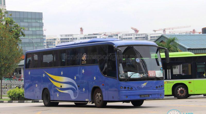 Premium Bus Service 531 - Land Transport Guru