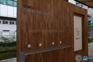 New Choa Chu Kang Bus Interchange - SMRT WeCare Charging Station