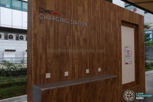 New Choa Chu Kang Bus Interchange - SMRT WeCare Charging Station