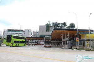 New Choa Chu Kang Bus Interchange - Exterior