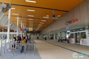 New Choa Chu Kang Bus Interchange - Concourse & NTWU Canteen